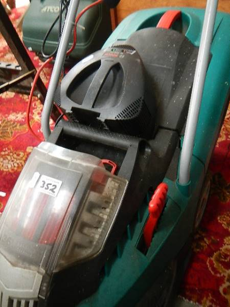 A Bosch lawn mower in good order. - Image 2 of 2