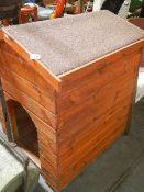 A good dog kennel.