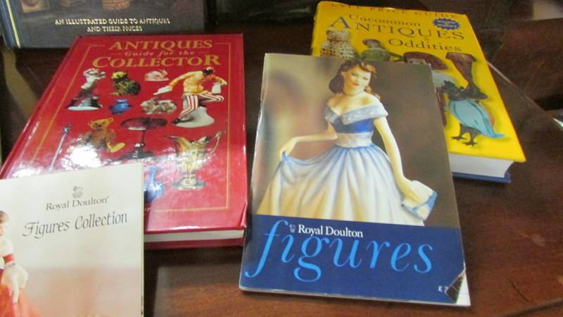 A collection of antique reference books. - Image 4 of 5