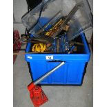 A box of old tools etc.