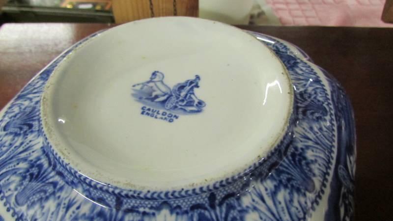 Three Cauldon blue and white bowls. - Image 5 of 5
