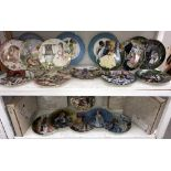 A quantity of collectors plates, 6 kaiser nursery rhymes (in German on reverse),
