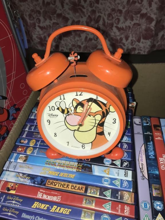 2 Disney cases & Disney DVD's, Flubber toy etc. - Image 6 of 7