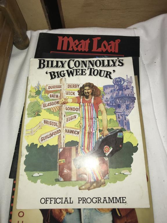 A quantity of music tour programmes including Bowie, Meatloaf & Rod Stewart etc. - Image 6 of 10