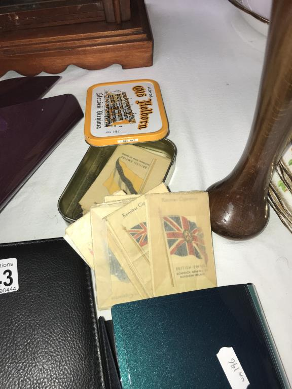 A collection of cigarette silks & other cigarette/tea cards - Image 2 of 6