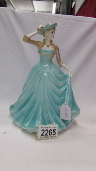 A boxed Coalport Classic Elegance figurine - Hilary.