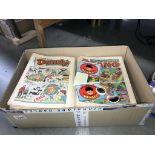 A collection of 1980's Beano comics etc