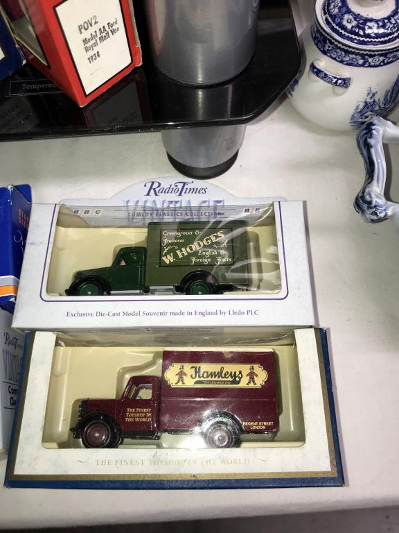 A selection of Lledo Guinness, Hamley's, Pepsi, Stanley Gibbons diecast models, - Image 4 of 6