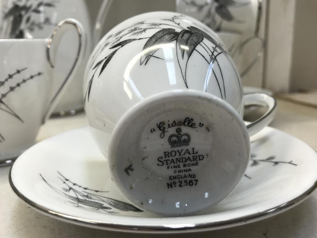 A Royal Standard 'Giselle' pattern coffee set - Image 2 of 2