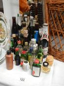 A quantity of unopened wine and beer.