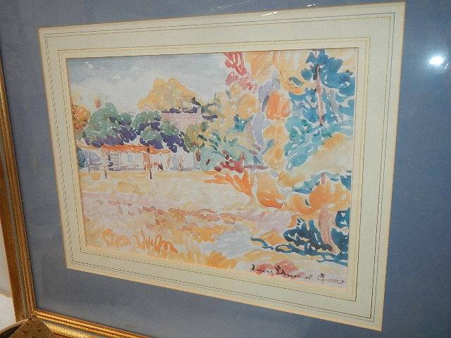 A quantity of gilt framed pictures. - Image 3 of 5