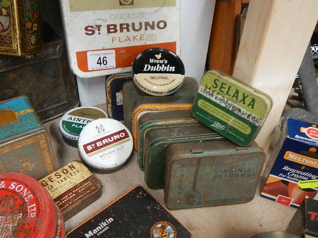 A quantity of old tins. - Image 2 of 2