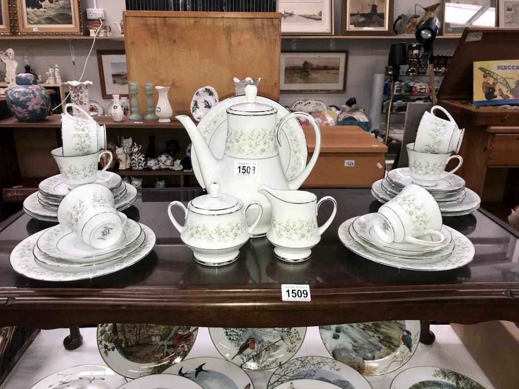 A Noritake Savannah 28 piece tea set