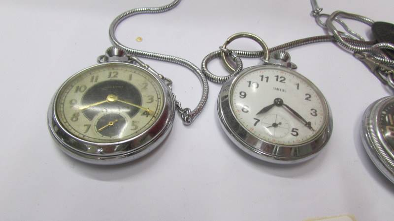 Four pocket watches. - Image 3 of 3