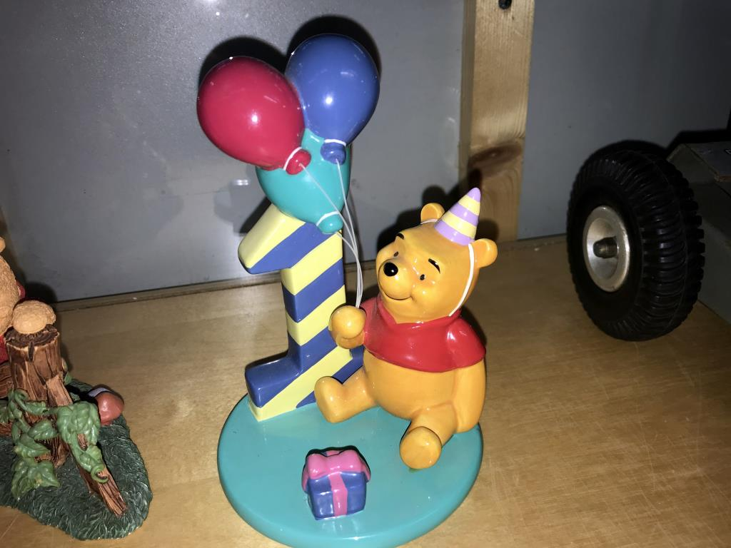 4 Winnie The Pooh figurines includes Royal Doulton Eeyore & Piglet - Image 4 of 5