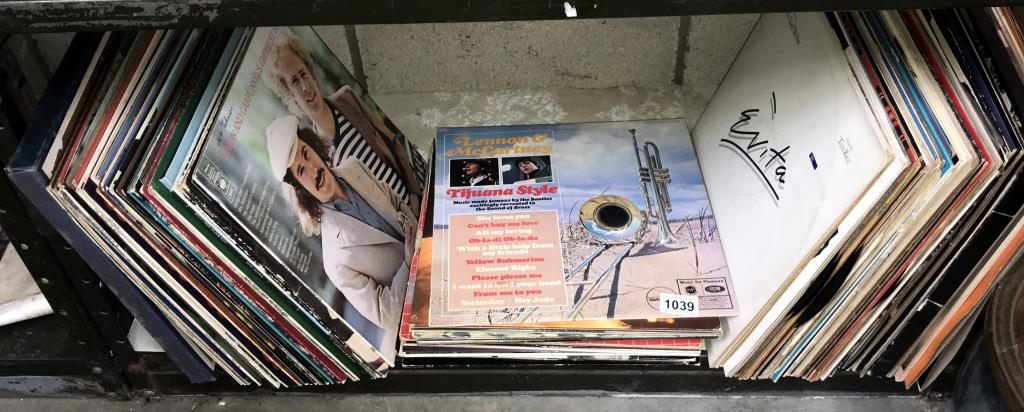 A quantity of LP records including Rod Stewart, Nelson Eddy, Gene Pitney, Country etc.