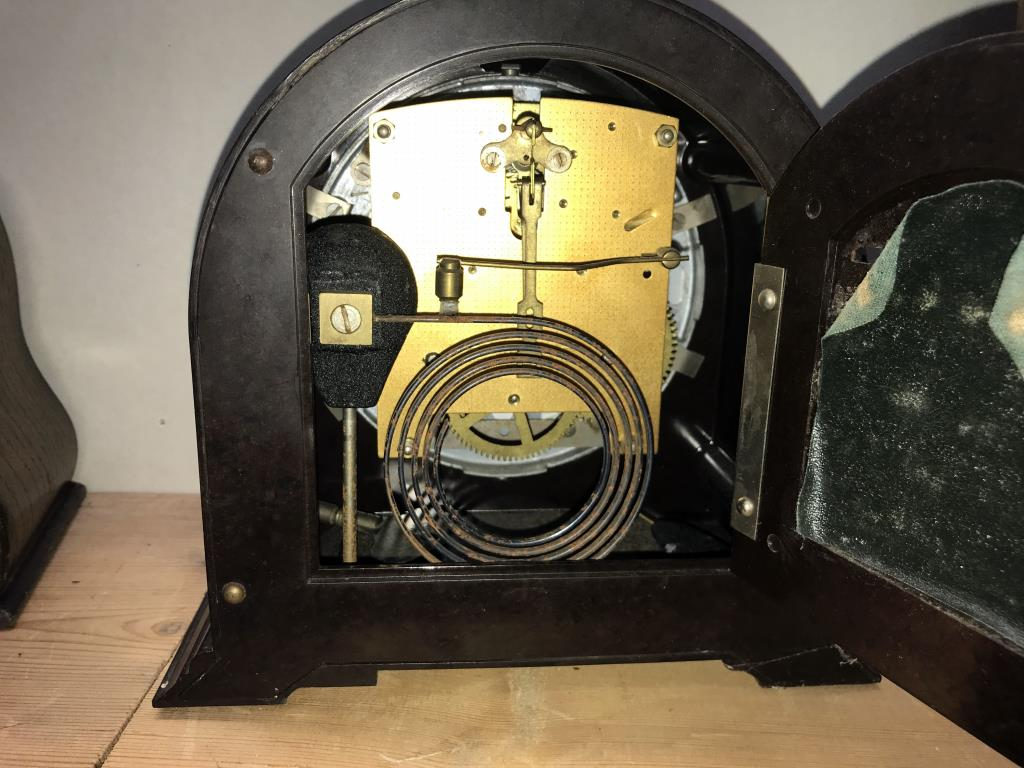 2 x 1930's Smiths mantle clocks, - Image 5 of 5