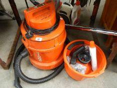 A vacuum cleaner.