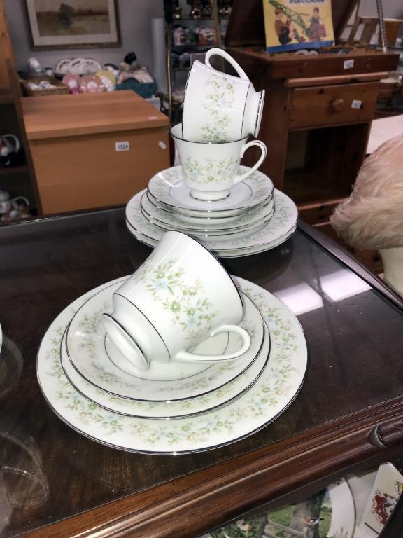 A Noritake Savannah 28 piece tea set - Image 4 of 5