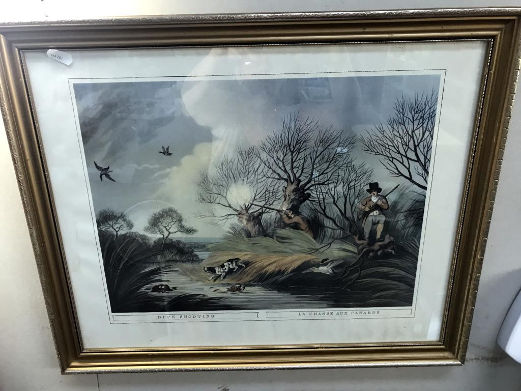 3 framed engravings including cries of London and 1 print - Image 2 of 5