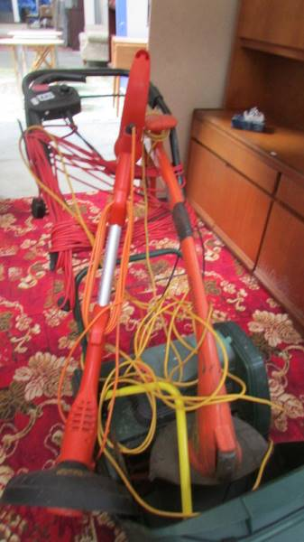 An ATCO lawn mower and 2 strimmers. - Image 2 of 2