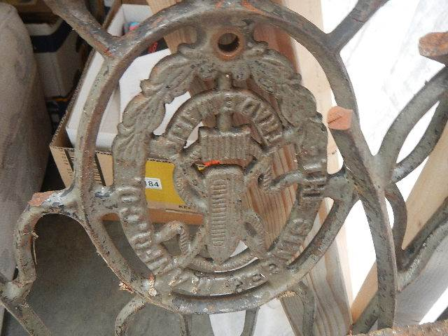 4 pieces of old iron work. - Image 3 of 3