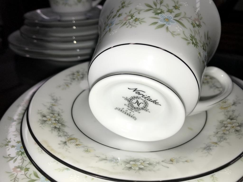 A Noritake Savannah 28 piece tea set - Image 5 of 5