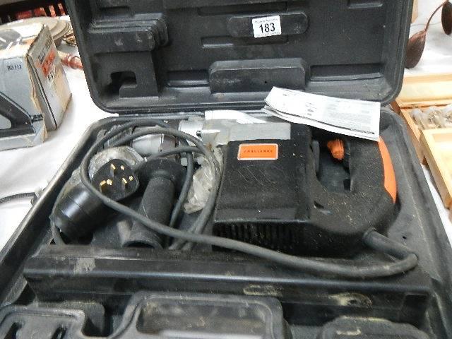 A Challenge Kango hammer drill.