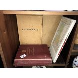 A boxed Auto-Mapic road map of Great Britain and a 1963 AA illustrated road book of England and