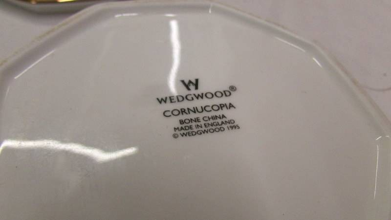 A Wedgwood 'Cornucopia' pattern lidded urn and a matching lidded pot. - Image 4 of 4