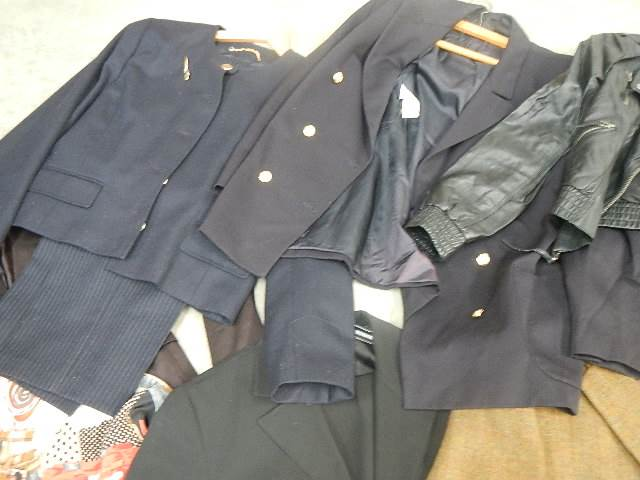 A full rail of vintage and other clothing. - Image 9 of 12