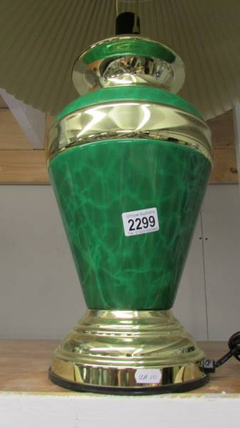 A good quality table lamp with shade. - Image 2 of 2