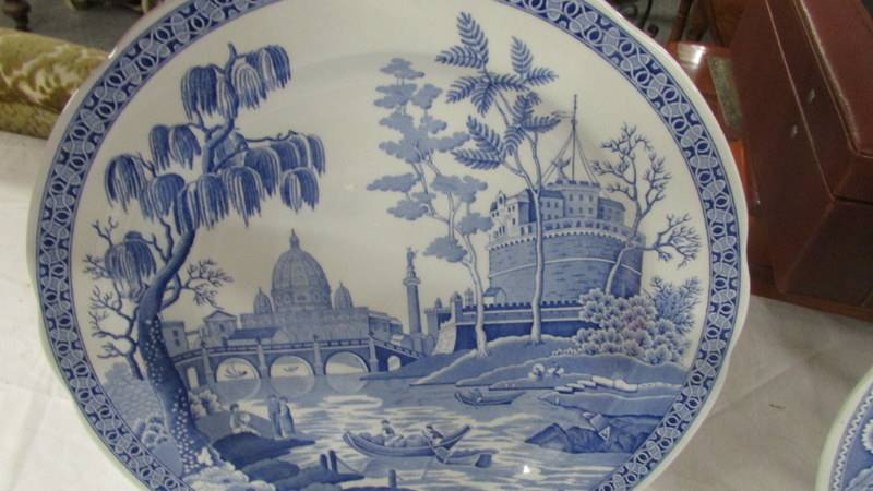 Three Spode blue and white plates. - Image 3 of 4