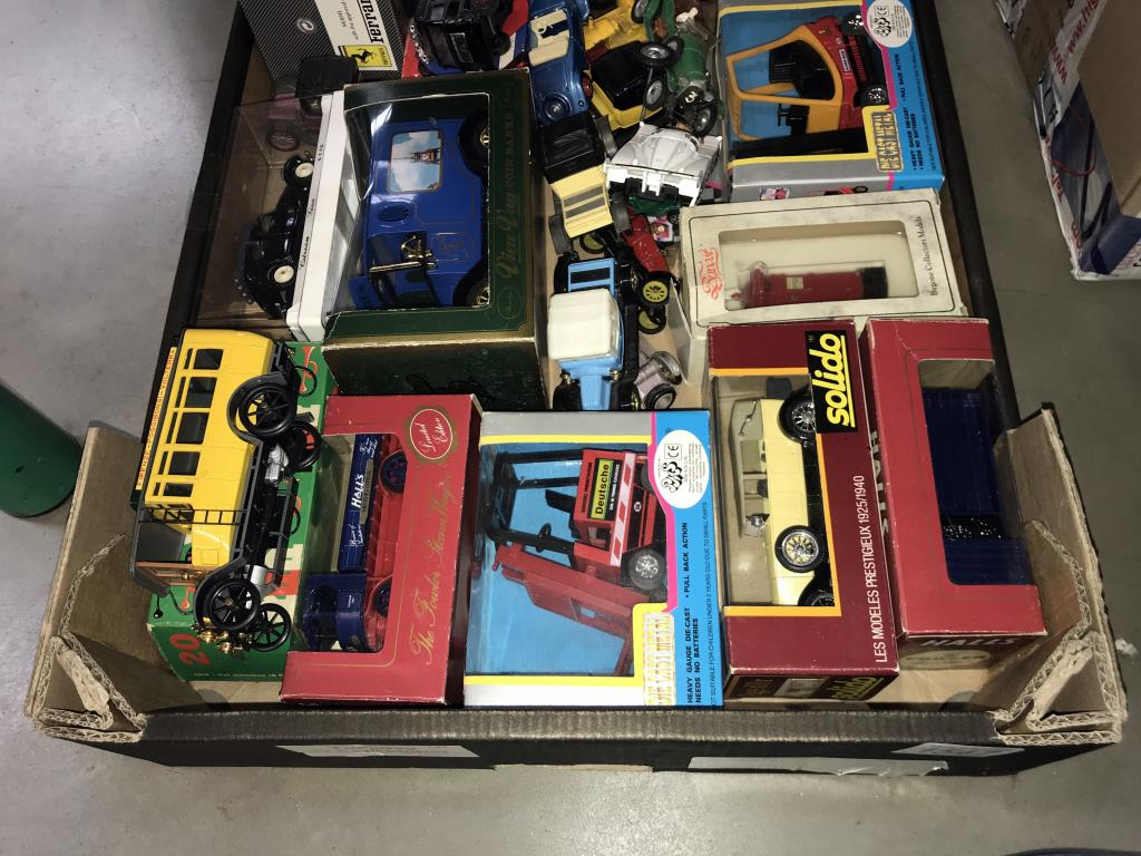 A quantity of mixed diecast boxed and unboxed including Solido, Corgi, Rio etc. - Image 2 of 3