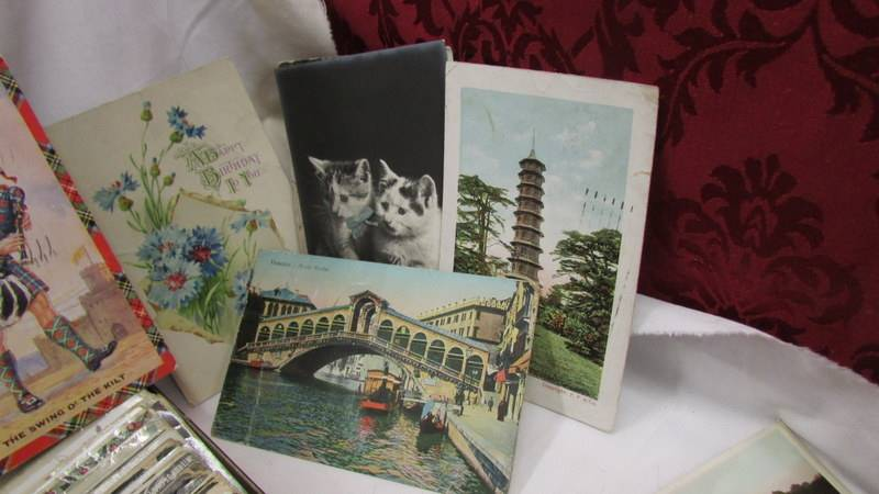 In excess of 200 interesting old postcards and greeting cards. - Image 3 of 6