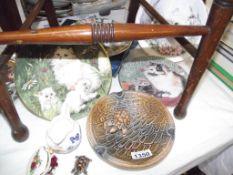 A large Wade tortoise dish, Royal Albert, Aynsley,