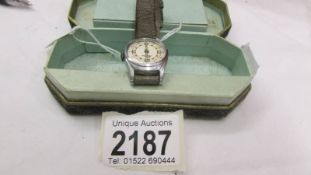 A vintage Kelton ladies wrist watch in original box and with original guarantee dated 9 Sept 1950.