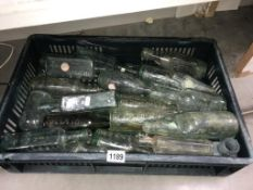A quantity of glass bottles