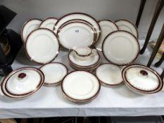 A 31 piece Alfred Meakin dinner set