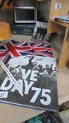 A VE Day 75 hard back book, The 'Unseen Archives' Beatle book,