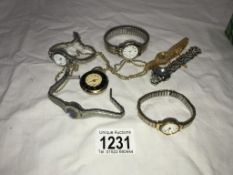 A quantity of watches