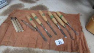 A set of good quality wood chisels.