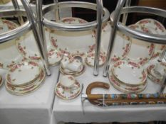 Royal Doulton Pink Roses dinner service,
