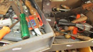 Two boxes of tools (Collect only)