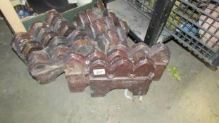 A quantity of ceramic edging tiles.
