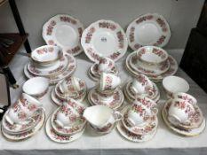 A quantity of Colclough tea and dinner ware.