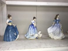 3 Royal Doulton figurines, Helen HN3601,
