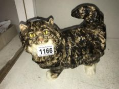 A signed Winstanley cat, size 4, no chips/cracks,