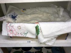 A good lot of linen,