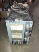 A Coutant variable volt & amp power supply unit (model LB1000.
